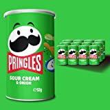 Pringles Sour Cream & Onion, 12 Pack (12 x 53g)