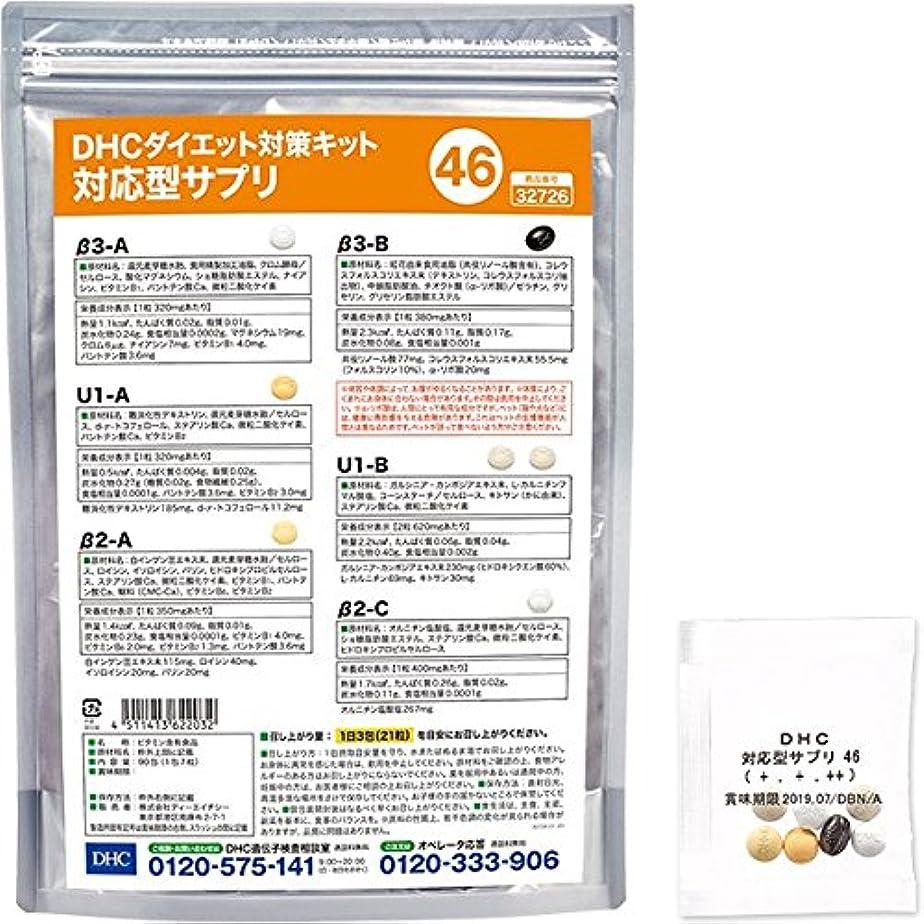 発送出会い神話DHCダイエット対策キット対応型サプリ46
