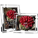 [Amazonブランド] Umi.(ウミ) 写真立て 額縁 6X8 サイズ フォトフレーム 2枚セット