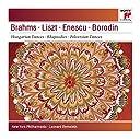 Brahms: Hungarian Dances Nos. 5 6 - Liszt: Les Préludes Hungarian Rhapsodies Nos. 1 4 - Enescu: Romanian Rhapsody No. 1