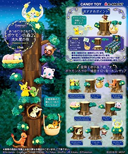 ポケットモンスター あつめて!かさねて!ポケモンの森2 流れ星の木 8個入りBOX (食玩)