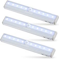 【3本セット】Sunnest LED人感センサーライト