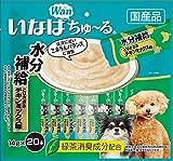 いなばペットフード 犬用おやつ ちゅ~る 水分補給 とりささみ チキンミックス味 14g×20本
