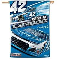 "NASCAR RACING 28"" x 40""垂直フラグ"