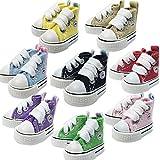 コンバース スニーカー 1/6 ドール 用 靴 ハイカット スニーカー 8色から選べます ( ブライス Blythe オビツ 21 25 27 cm リカちゃん プーリップ Momoko ジェニー 他) (ホワイト)