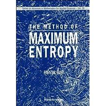 Method Of Maximum Entropy, The: 29