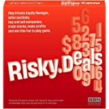 Risky Deals Board Game - The Stock Market Thrill Without The Stock Market Risk. A Fun and Full of Adrenaline Board Game for A