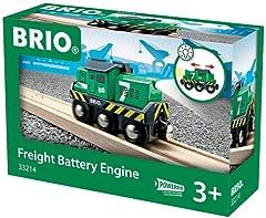 BRIO 33214 Freight Battery Engine Green