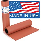 Pink Kraft Butcher Paper Roll - 18 Inch x 175 Feet (2100 Inch) - Food Grade FDA Approved ? Great Smoking Wrapping Paper for M