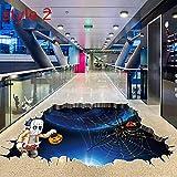 Rabugoo ハロウィーン 壁 床 表面の装飾 3D 恐ろしい ハロウィーン 壁のステッカー 床の貼り付け ウォールステッカー 恐怖 祝日