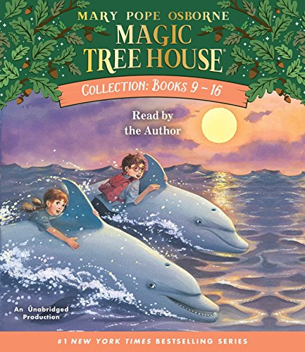 Magic Tree House Collection: Books 9-16: #9: Dolphins at Daybreak; #10: Ghost Town; #11: Lions; #12: Polar Bears Past Bedtime; #13: Volcano; #14: Dragon King; #15: Viking Ships; #16: Olympics (Magic Tree House (R))の詳細を見る