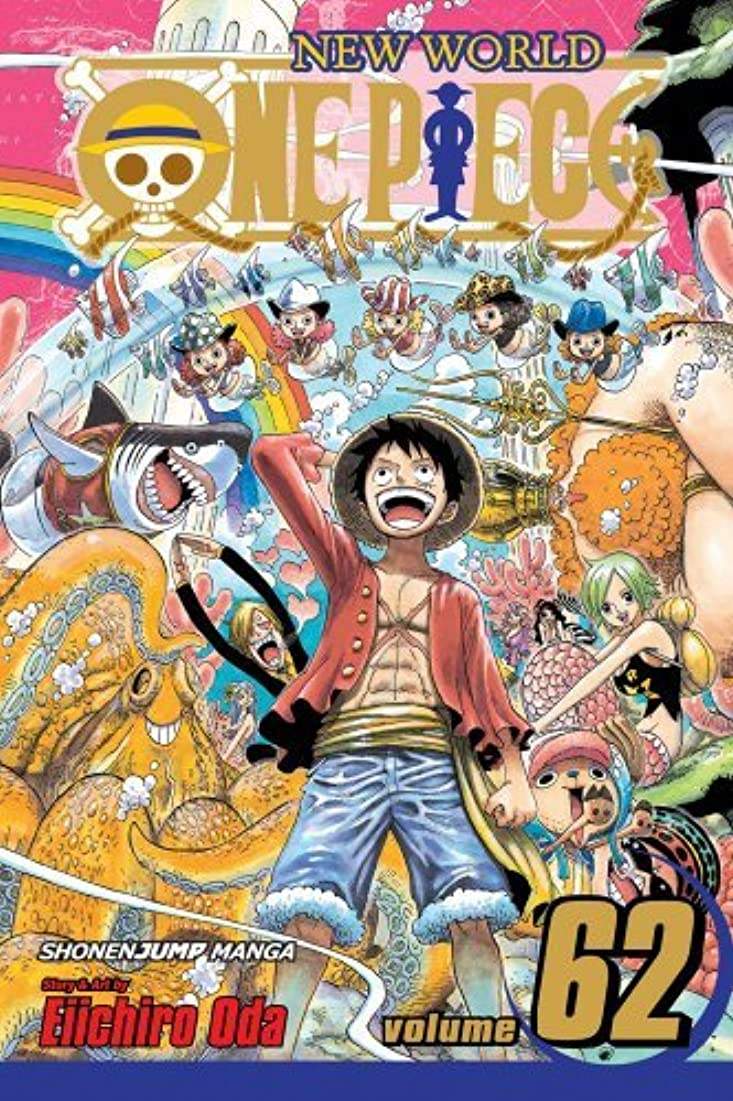 One Piece, Vol. 62: Adventure on Fish-Man Island (One Piece Graphic Novel) (English Edition)