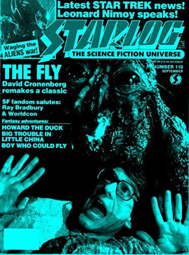 Starlog Magazine The Sci Fi Comics: September 1986 (English Edition)