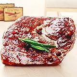 肉のクッション ステーキ インテリア 枕 料理 キッチン 睡眠 大型 巨大 特大 おもしろ クッション 抱き枕 (ステーキ)