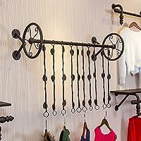 衣料品店のディスプレイラックの壁掛け棚、衣類棚、子供服屋壁掛け棚 ( サイズ さいず : 120*37cm )