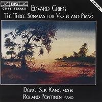 Violin Sonatas Nos. 1-3 by EDVARD GRIEG (1994-10-14)