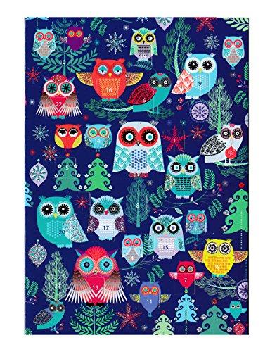 ロジャーラボード 【クリスマス】 アドベントカレンダー (フクロウ×ブルー) ACC030...