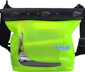 Mercs Tteoobl 防水バッグ 100% 完全防水 Mサイズ ショルダーバッグ 防水保護等級IPX8 海水浴 川遊び プール トラベル アウトドア 防災 必需品