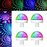 LUUMEO® USB Mini Disco Light Party Lights Ball Sound Activated, Halloween DJ Disco Ball Stage Lights-Multi Colors LED Car Atm