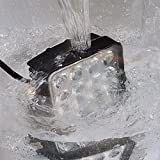 LEPOWER 作業灯 LEDワークライト IP67防塵防水 豪雨対応可 車 トラック 船舶 補助照明 12V~24V対応 1年保証 2種類 (48W)