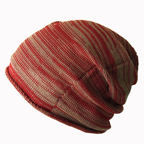 (エッジシティー)EdgeCity コットン アクリル ニット帽 大きいサイズ メンズ 日本製 L(000457-0046-61)