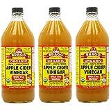 Bragg, オーガニック アップル サイダー(Apple Cider Vinegar) 946 ml (3個セット) [並行輸入品]