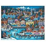 Dowdle Folk Art アメリカンホッケーパズル 500ピース