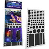 LightDims Original Strength - Light Dimming LED Covers/Light Dimming Sheets for Routers, Electronics and Appliances. Dims 50-