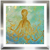 "Picture Perfect International "" Under the Sea 1 "" by by Jodi Framed Plexiglass壁アート"