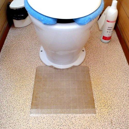 トイレ悪臭防止マット ダートルマット イージータイプ 《色:...
