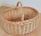 ショッピング ピクニック かごバスケット カゴ バッグ 籠 北欧 LLサイズ