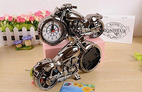 【Life Bank 】 ユニーク バイク型 時計 クラシック ブロンズ カラー インテリア バイク好きの方に アンティーク 飾り 置時計 おしゃれ 雑貨 テーブルクロック 人気 レトロ デザイン