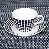 [ グスタフスベリ ] Gustavsberg ADAM アダム Coffee Set コーヒーセット Blue/White ブルー/ホワイト 洋食 食器 おやつ 新生活 [並行輸入品]