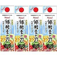 補酵素のちから キウイフルーツ味 1000ml 4本セット 希少糖配合