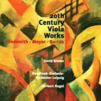 20th Century Works for Viola