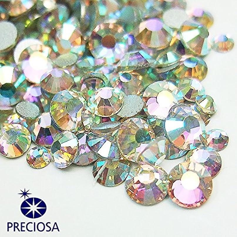 プレシオサ(PRECIOSA) チェコ製ラインストーン【お試しMIX】 クリスタルAB 160粒入