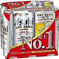 アサヒドライゼロ 500ml×6缶