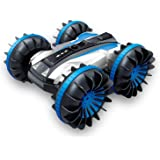 Waterproof RC Car, 2.4Ghz 4WD Remote Control Cars, Amphibious Off Road Car, 360° Spins and Flips Water & Land Electric Stunt