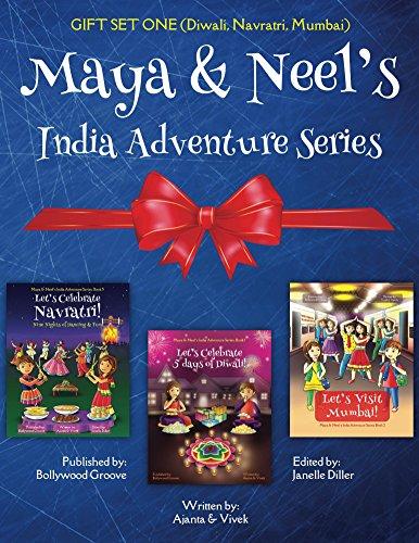 GIFT SET ONE (Diwali, Navratri, Mumbai): Maya & Neel's India Adventure Series (Maya & Neel's India Adventure Series GIFT SET Book 1) (English Edition)