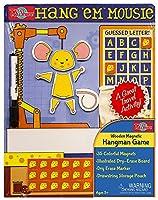 Hang'em Mousie Wooden Magnetic Game Board [並行輸入品]
