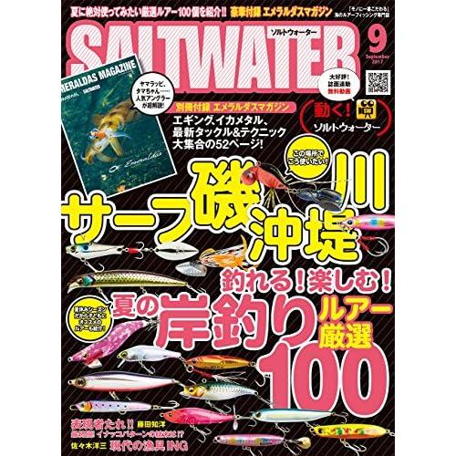 SALT WATER(ソルトウォーター) 2017年 09 月号 [雑誌]
