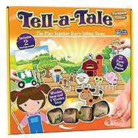 Cheatwell Games Tell-a-Tale Pre-School Farmyard Edition Storytelling Game