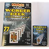 [ロックリッジマジック]Rock Ridge Magic Houdini Magic Wonder Deck 77 Tips and Tricks with a Svengali Deck Booklet Only [並行輸入品]