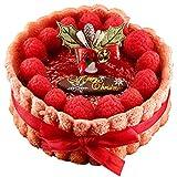クリスマスケーキ 2017 ムースケーキ フランボワーズとショコラのシャルロットロゼ ギフト プレゼント