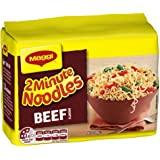 MAGGI 2 Minute Noodles, Beef, 5 Pack, 360g