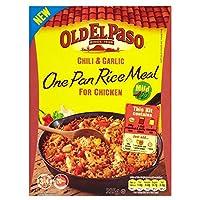 Old El Paso Chilli & Garlic Rice Kit (355g) 古いエルパソの唐辛子とガーリックライスキット( 355グラム)