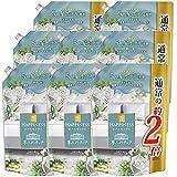 【ケース販売】【新】 レノアハピネス 夢ふわタッチ 5つ星ホテル発想 柔軟剤 上品で心地よいホワイトティーの香り 詰め替え 810 mL×8袋