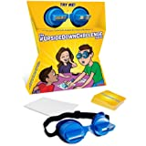 The UpsideDownChallenge Game for Kids & Family - Complete Fun Challenges with Upside Down Goggles - Hilarious Game for Game N