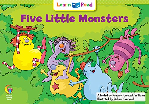 Five Little Monsters (Learn to Read Math Series)の詳細を見る