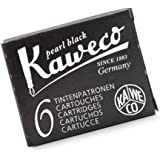 Kaweco Compact Fountain Pen Ink Cartridges, Black, (KW-10000257)
